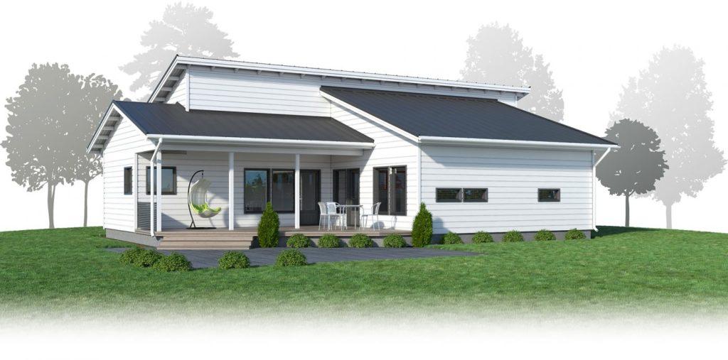 Проект каркасного дома КД-166-1-1648