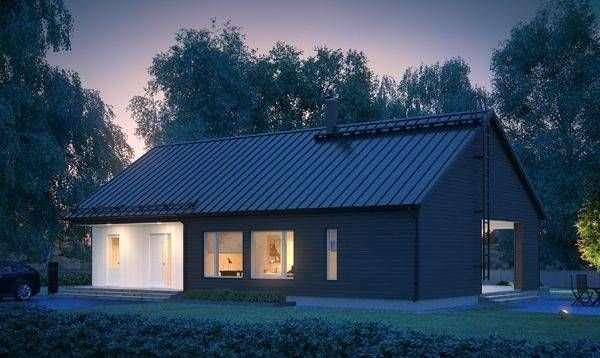 Проект каркасного дома КД-141-1-1480