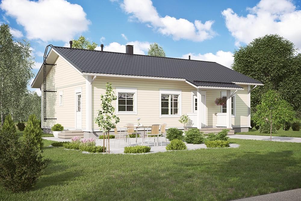 Проект каркасного дома КД-114.5-1-2