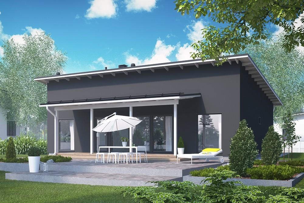 Проект каркасного дома КД-120-1-5