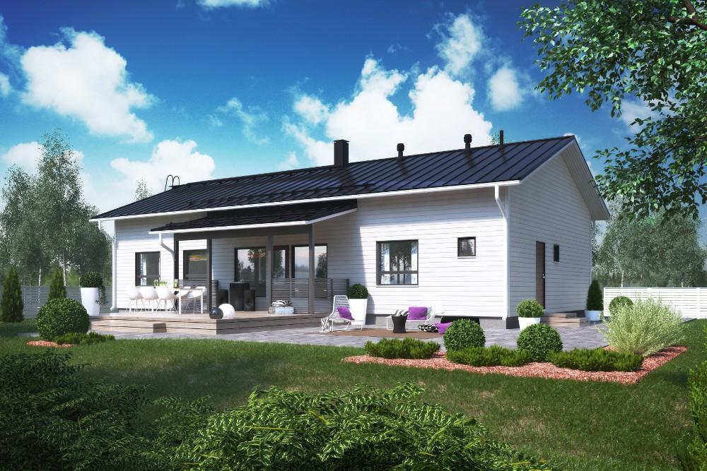Проект каркасного дома КД-152-1-32