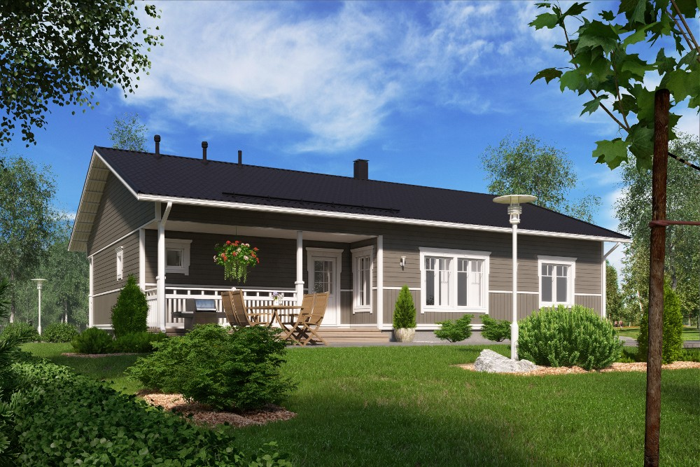 Проект каркасного дома КД-153-1-35