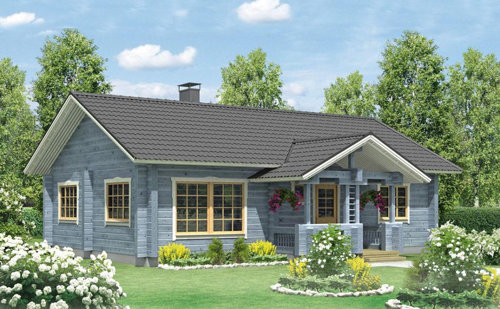 Проект каркасного дома КД-92-1-1138