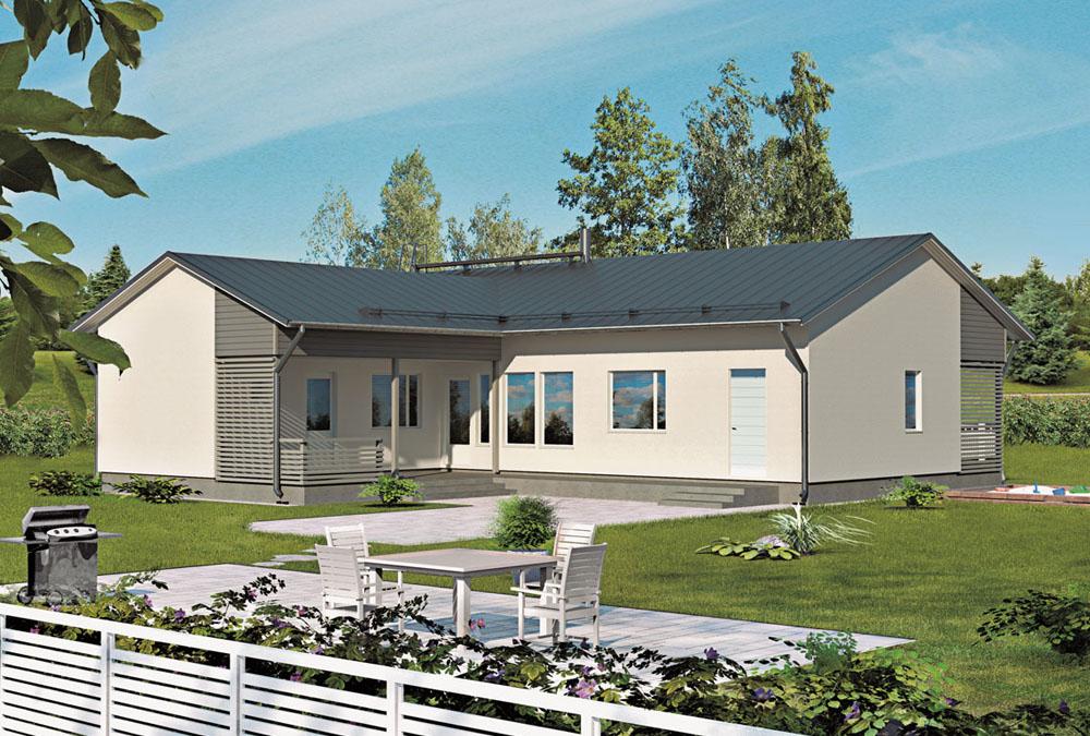 Проект каркасного дома КД-165-1-1741