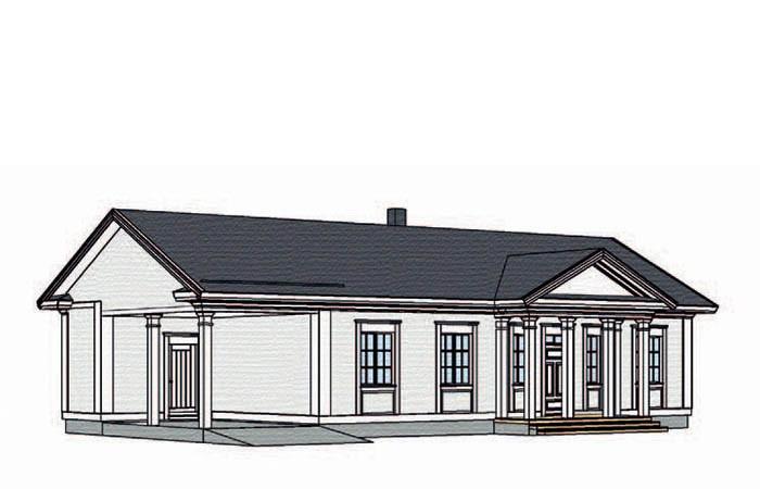 Проект каркасного дома КД-168-1-201