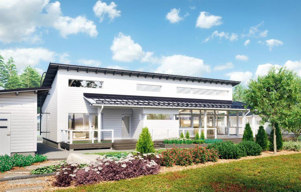 Проект каркасного дома КД-162-1-1570