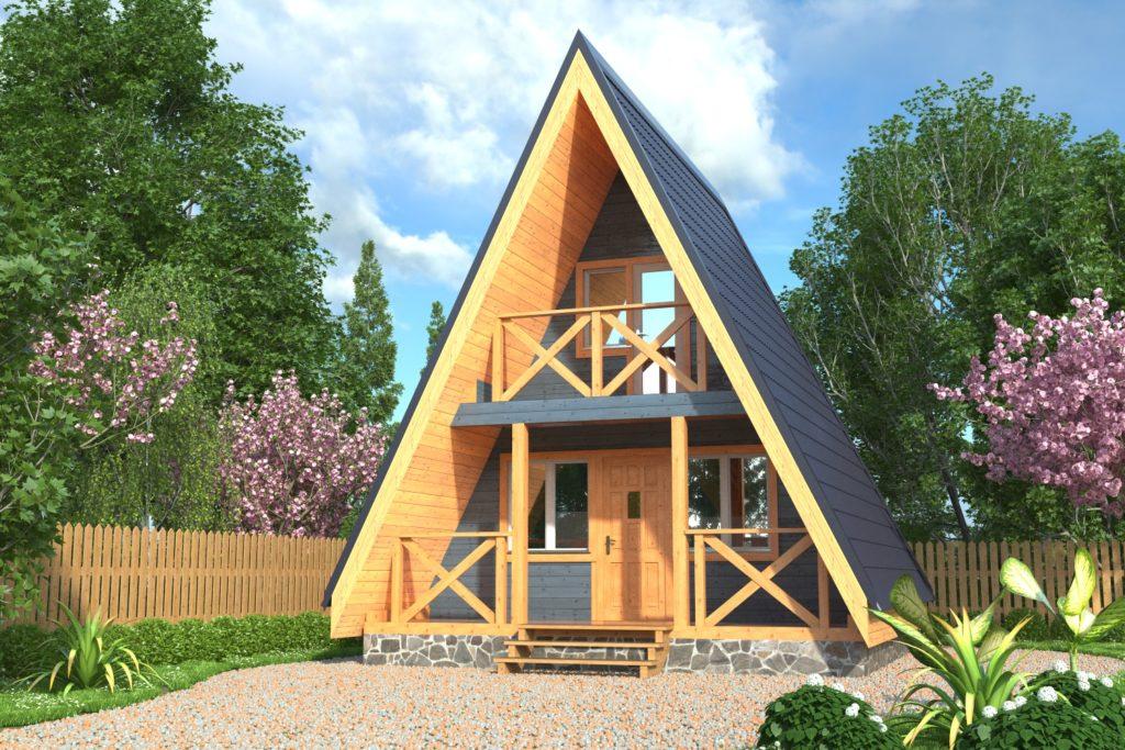 Проект каркасного дома КД-37