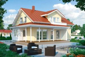 Проект каркасного дома КД-186-23