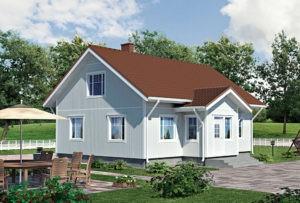Проект каркасного дома КД-126