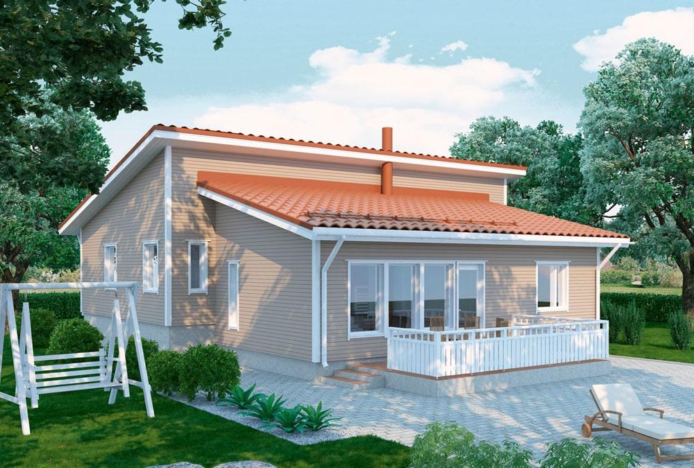 Проект каркасного дома КД-152-20