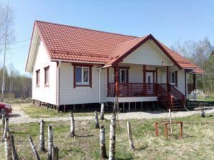 Каркасный дом д.Радонежье