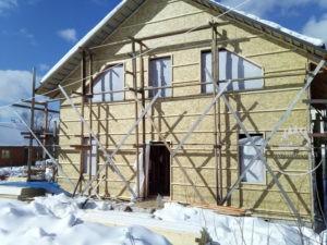 Каркасный дом Расторгуево